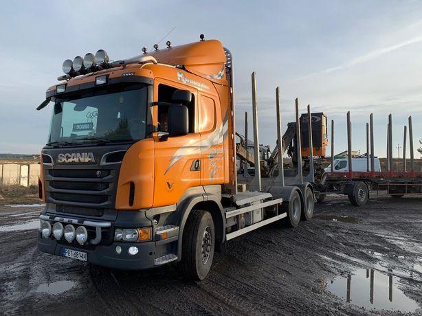 Do drewna do lasu do drzewa Scania 6x4 2011 R620 komplet Loglift 96S
