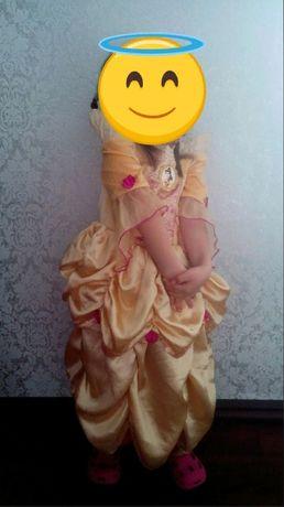 аренда двухстороннего платья с принцессами на прокат