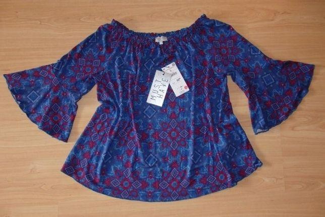 NOWA Reserved bluzka Must Have 95% wiskoza rękaw 3/4 r. L SA467-mlc