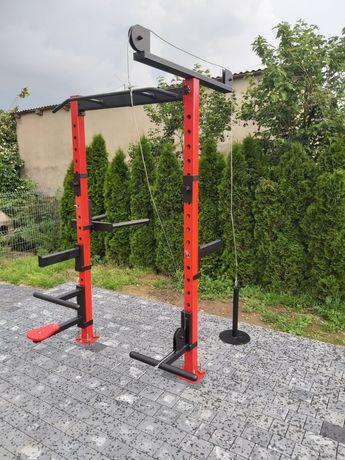 Multicomplex Gym Haryzma produkt Polski power rack wyciąg góra i dół