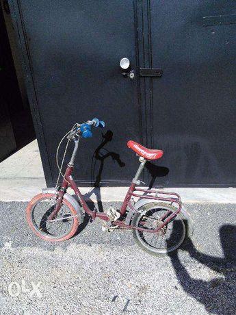 Bicicleta pasteleira roda 16
