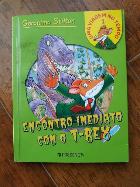 """""""Encontro imediato com o t-rex"""""""
