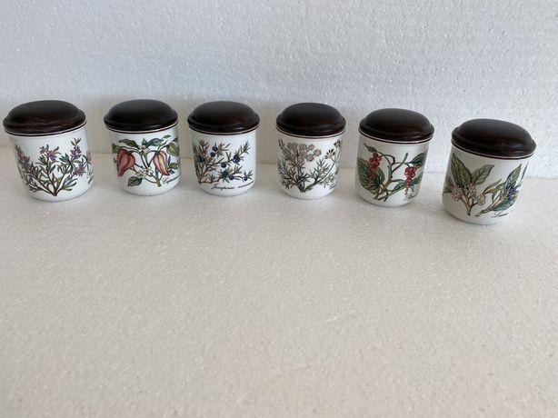 Винтаж: банки под сыпучие из коллекции посуды Ботаника Виллерой&Бох