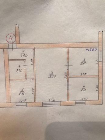 3-х комнатная квартира Красноград