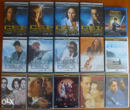 Conjunto de 14 DVDs e 1 Blu-Ray