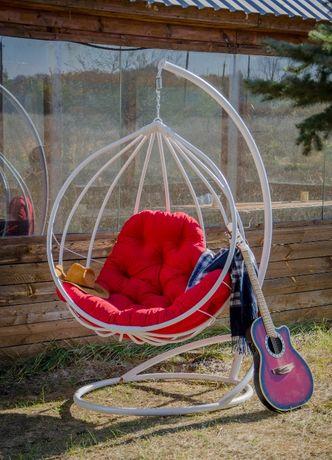 """Кресло кокон подвесное в стиле лофт. Качели для дома и сада- """"Адель""""."""