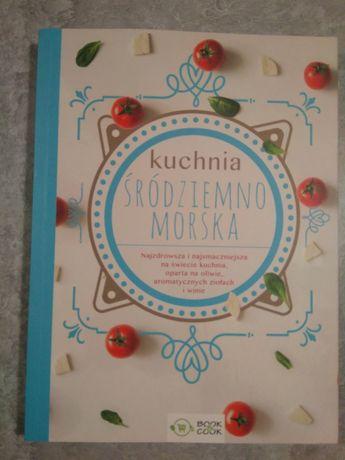 NOWA! Książka kucharska, przepisy. Kuchnia Śródziemnomorska