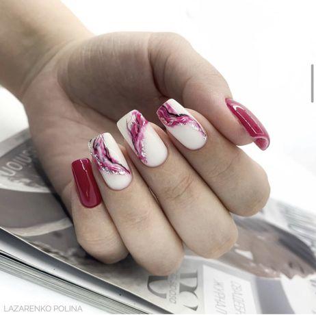 Маникюр Наращивание ногтей Покрытие гель-лаком Коррекция