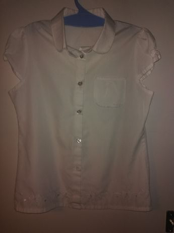 Tu bluzka biała galowa 9 lat 134