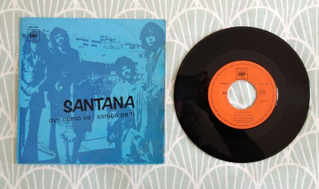 "Disco Vinil ""Santana – Oye Como Va / Samba Pa Ti"""