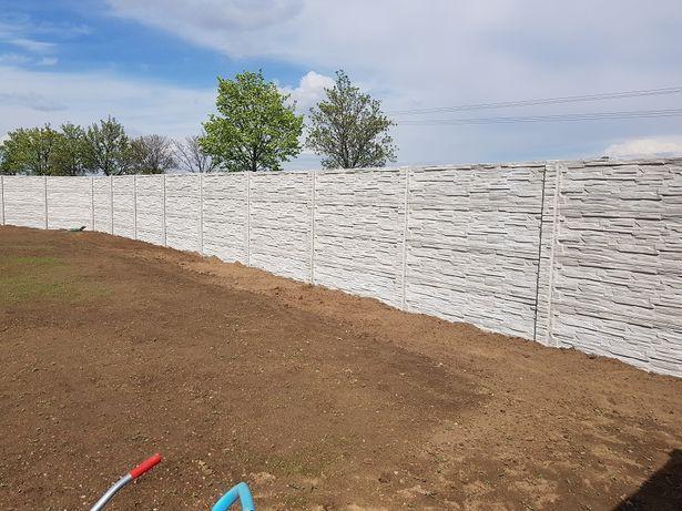 Ogrodzenia betonowe , panele, podmurówka , siatka, ogrodzenia , montaż