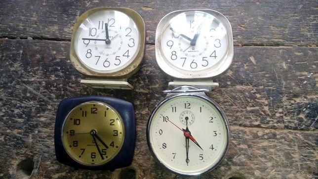 Zegary budziki z 70 lat prl