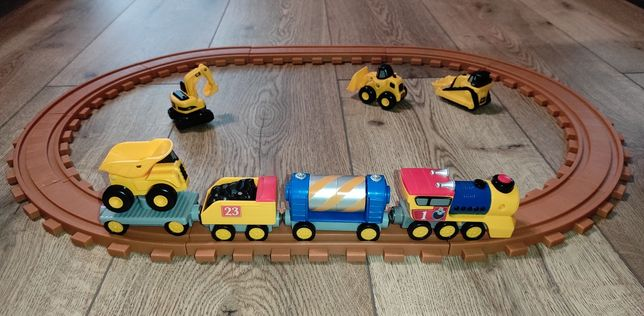 Железная / залізна дорога  поїзд Caterpillar поезд