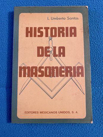 MAÇONARIA - 1976 | Livro Historia de la Masoneria (L. Umberto Santos)