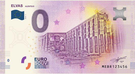 Nota de 0€ Elvas MEBR 2019-1