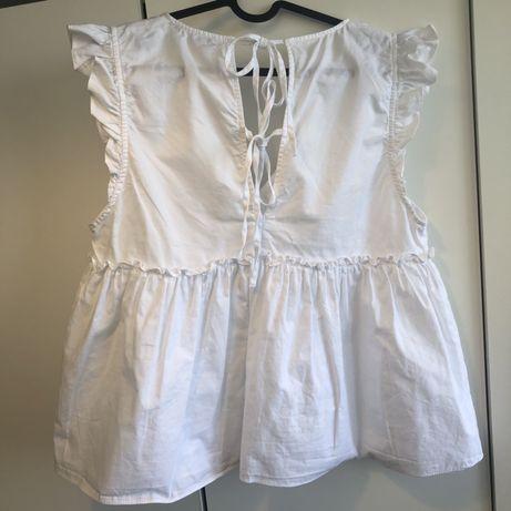 Biała bluzka Zara 36 S