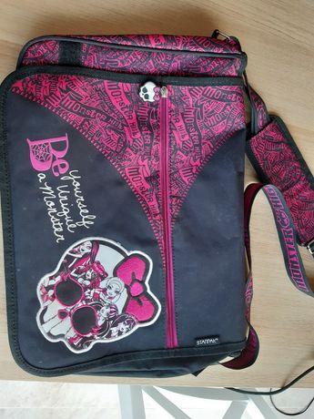 Duza torba na ramie A4, torebka dla dziewczynki Monster High