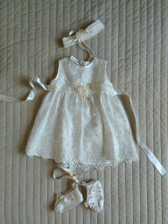 Платье детское, на крещение