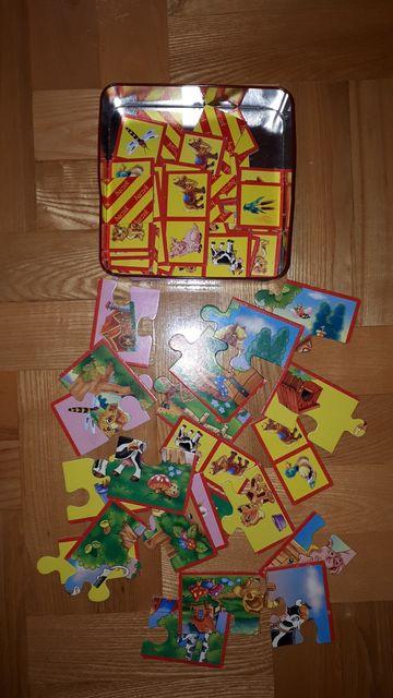 Puzzle dla dzieci + puzzle domino