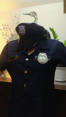 Strój przebranie policjantki