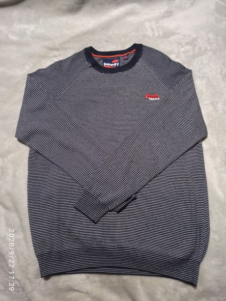 SuperDry orange label свитшот кофта свитер