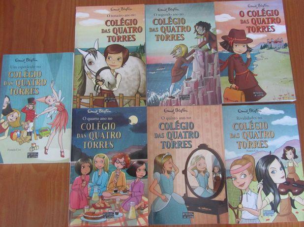 """Vendo livros """"Colégio das quatro torres"""""""