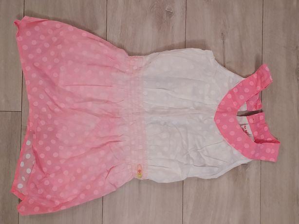 Super sukienka dla dziewczynki, rozmiar 128, firmy tup tup