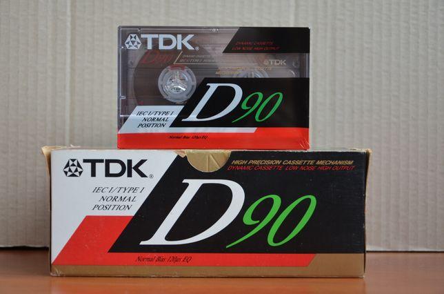 Аудиокассеты TDK D90 кассеты для магнитофона