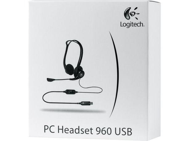 Logitech ps 960 stereo headset USB