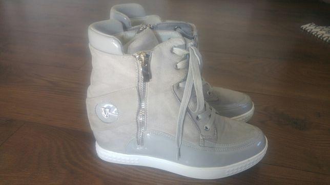 Buty Sneakersy szare rozm.38