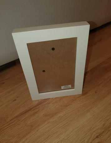 Ramka do zdjęcia biała drewniana