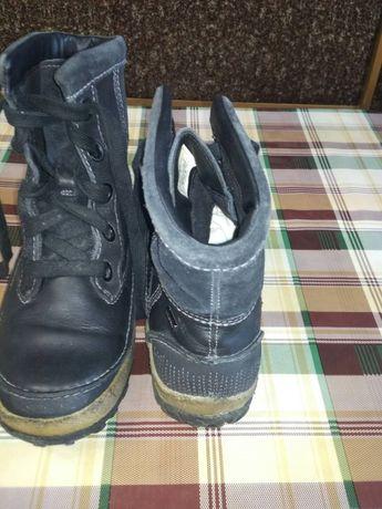 Ботинки, зимние, кожа