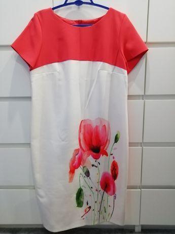 Sukienka w maki roz. 44