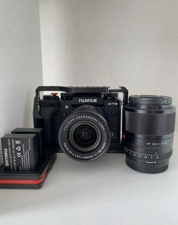 Фотоаппарат Fujifilm X-T3 Kit XF 18-55mm F/2.8-4 + допы