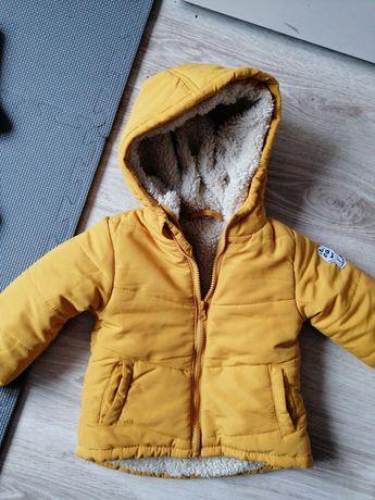 Kurtka musztardowa żółta 80 86