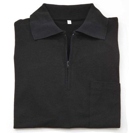 Koszulka polo z czystej bawełny, XL.