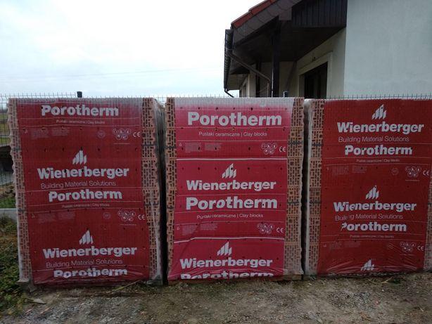Kratówka 25 p+w wienerberger porotherm