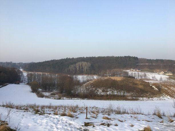 Działki nad jeziorem z linią brzegową k. Golubia - Dobrzynia