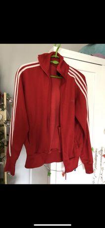 Bluza adidas czerwona