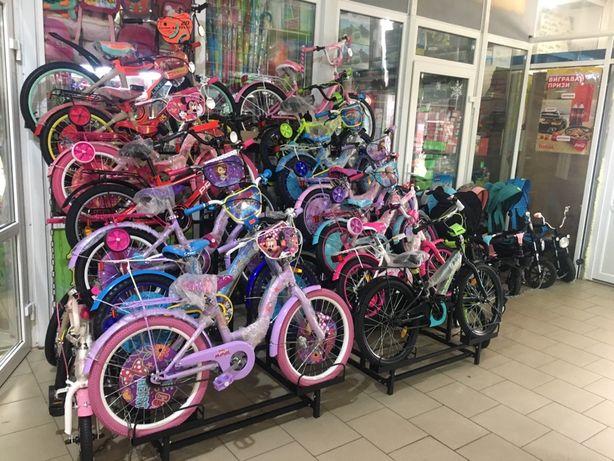 Продам велосипеды 14, 16, 18, 20 дюймов (корзины, сиденья для кукол)