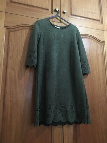 Vestido simples cortefiel