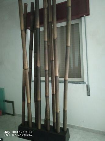 10 Canas de bambu