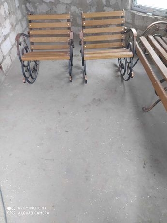 Дубові крісло-каталки
