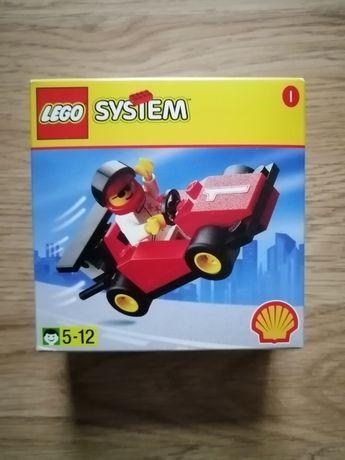 Lego Town 2535 Shell Formula 1 Racing Car UNIKAT 1998r