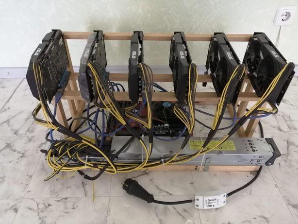 ФЕРМА МАЙНИНГ 6х Radeon Rx 580 4Gb