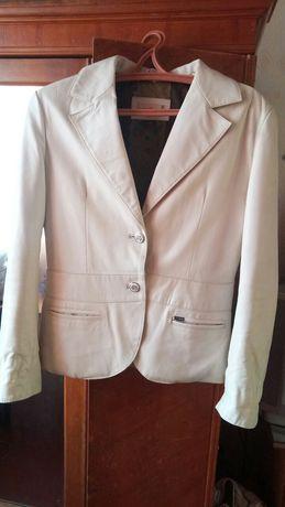Кожаный Пиджак 54 размер