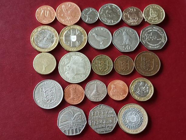 Обменяю монеты Украины, разных стран или продам. ОБНОВЛЕНО.