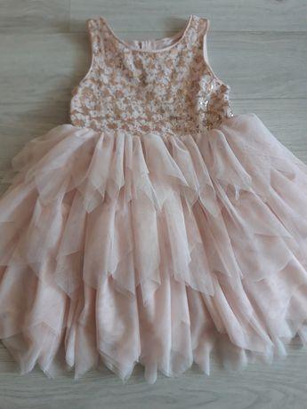 Sukienka dziewczęca rozmiar 134.