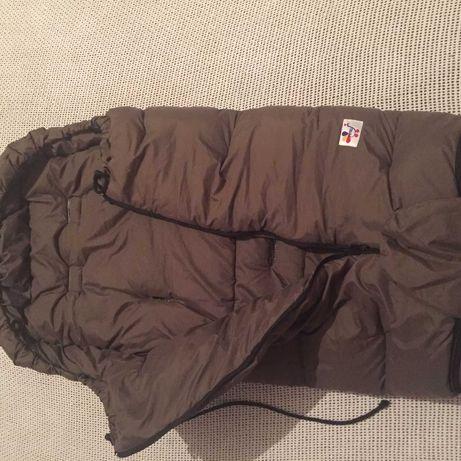 Детский спальный мешок конверт на пуху немецкого бренда PFAU