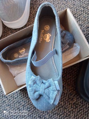 Buty Balerinki baleriny dla dziewczynki 29